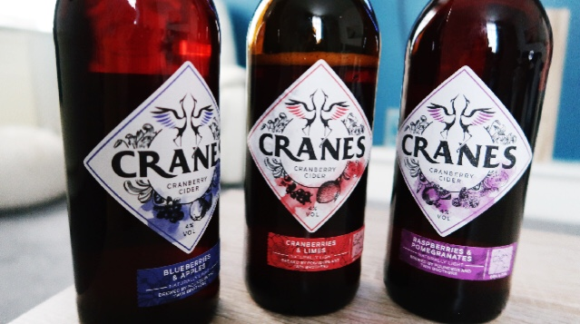 The Taste of Summer: Crane's Cranberry Cider